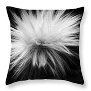White Hairs ... Throw Pillow