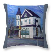 White House Tavern Throw Pillow