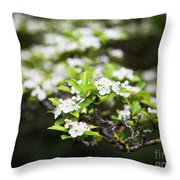 White Love 6 Throw Pillow
