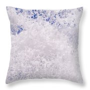 White Out Throw Pillow