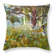 White Pine Throw Pillow