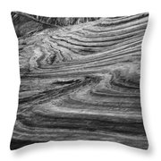 White Pockets 2415 Throw Pillow