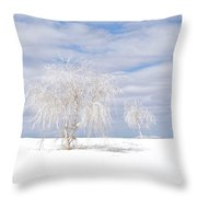 White Sands Duo Throw Pillow