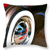 White Wall Throw Pillow