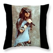 White Zombie 93-rob-0350 Throw Pillow