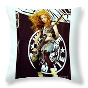 White Zombie 93-sean-0337 Throw Pillow