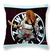 White Zombie 93-sean-0341 Throw Pillow