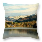 Whiteface Dusting Throw Pillow