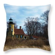 Whitehall Light Throw Pillow