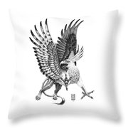 Whitehead Griffin Throw Pillow