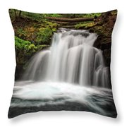 Whitehorse Falls 2 Throw Pillow