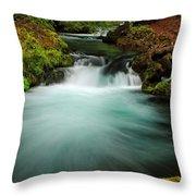 Whitehorse Falls 3 Throw Pillow