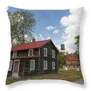 Whitesbog Village Throw Pillow