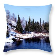 Whiteshell Provincial Park Throw Pillow