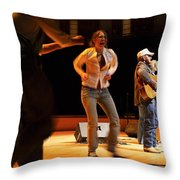 Whitetop Mountain Band In Concert Throw Pillow