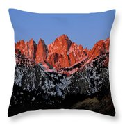 Whitney Sunrise Throw Pillow