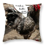 Who Gives A Throw Pillow