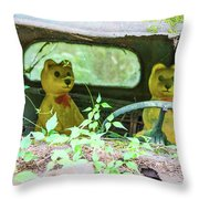 Who Has Been Driving My Truck Throw Pillow
