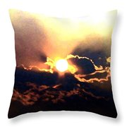 Who Has Kissed The Sun Throw Pillow
