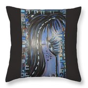 Who Is Watching Me1 Throw Pillow