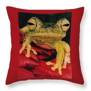 Who Loves Ya Throw Pillow