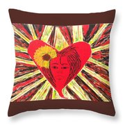 Who Needs Roses? Throw Pillow