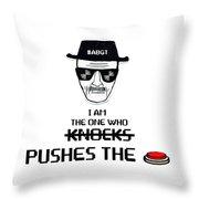 Who, Throw Pillow