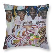 Who Said The Partys Over Throw Pillow