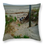 Who Said You Could Sit There? Throw Pillow