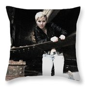 Who We Were Throw Pillow