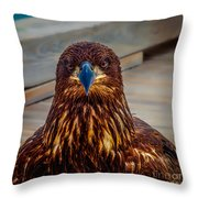Who You Looking At? Throw Pillow