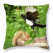 Whooaa Throw Pillow