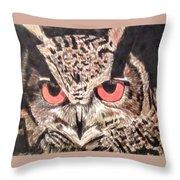 Whoot Owl Throw Pillow