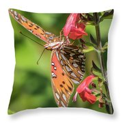 Who's Looking At Me? Throw Pillow