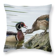 Who's The Boss Throw Pillow
