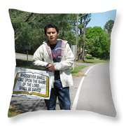 Whosoever Shall Call Throw Pillow