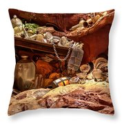 Whozits And Whatzits Galore Throw Pillow