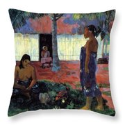 Why Are You Angry 1896 Throw Pillow