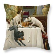 Why Should We Wait Till Tomorrow Throw Pillow