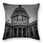 Wi Capitol Throw Pillow