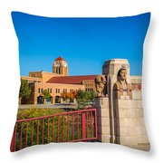 Wichita Bridge #1 Throw Pillow