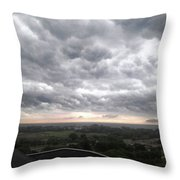 Wicked Clouds Throw Pillow