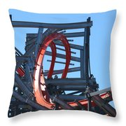 Wicked Cyclone Stall Throw Pillow