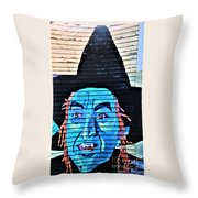 Wicked Good Throw Pillow