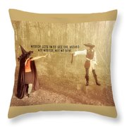 Wicked Quote Throw Pillow