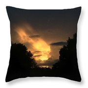 Wicked Sky Throw Pillow
