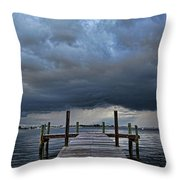 Wicked Weather Throw Pillow