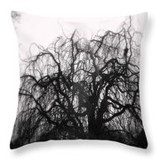 Wickedly Beautiful Throw Pillow