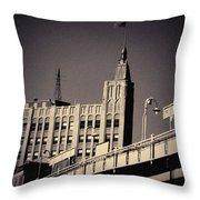 Wicker Park Northwest Tower Throw Pillow