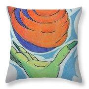 Wicket Fireball Throw Pillow
